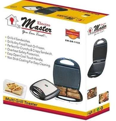 BRAND NEW ELECTRO MASTER WAFFLE GRILL MAKER....75,000/= Tzs. image 2