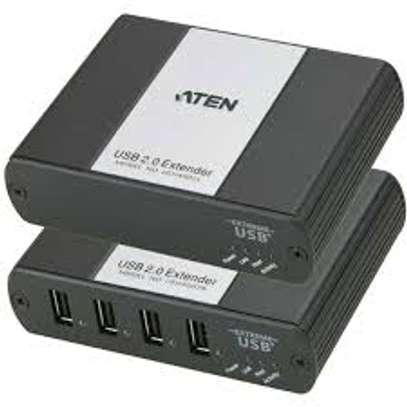 Aten UEH4002 Cat 5 USB 2.0 Extender for 4 devices up to 100m image 1