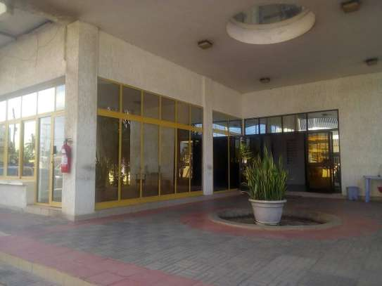 286SQM. of a Ground floor's Office facing The Ali Hassan Mwinyi road image 1