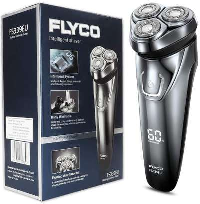 FLYCO Electric Shavers Men FS339EU, Wet & Dry Electric Razor Rotary Shaver for Men