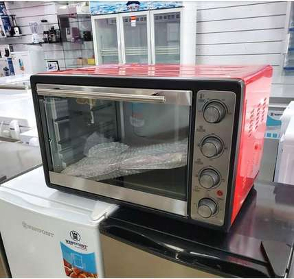 ELECTRIC MASTER OVEN 50L RED