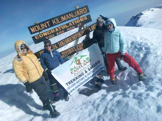 8 days Kilimanjaro trek via lemosho route