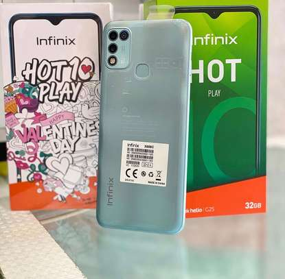"Infinix HOT 10 PLAY GB 32 PATA➖""Cover2️⃣ & Delivery Buree LEO! image 2"