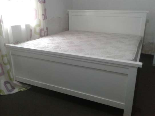 Bed and Spring Mattress image 1