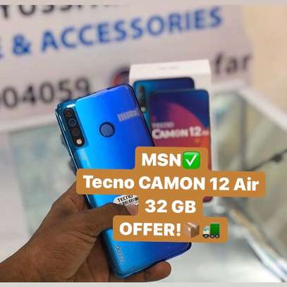 "Tecno CAMON 12 Air GB 32 ""BUY 1 GET FREE COVER image 1"