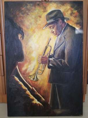 Oil Painting by Kilford Cement. image 1
