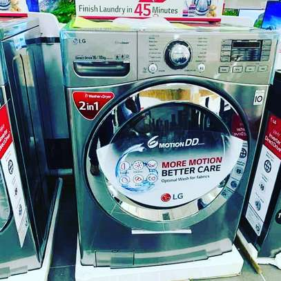 Lg washing machine 16 kg wash and dry 2 in 1