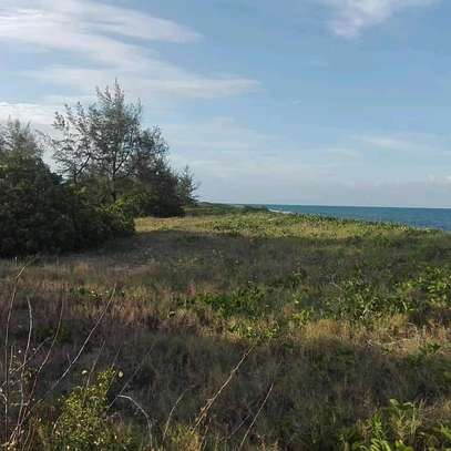 9 Acres of a Commercial Titled-Beach-Land at Mapinga Bagamoyo. image 6
