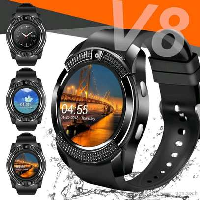 Smart watch v8 (black) image 1