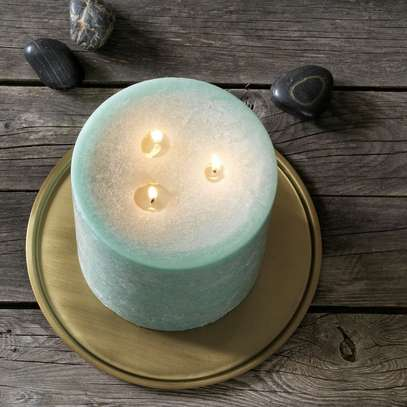 Unscented block candle image 2