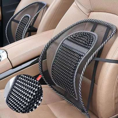 Car waist seat Lumbar for back support image 2