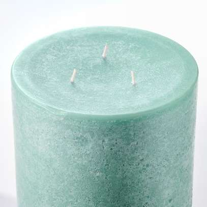 Unscented block candle