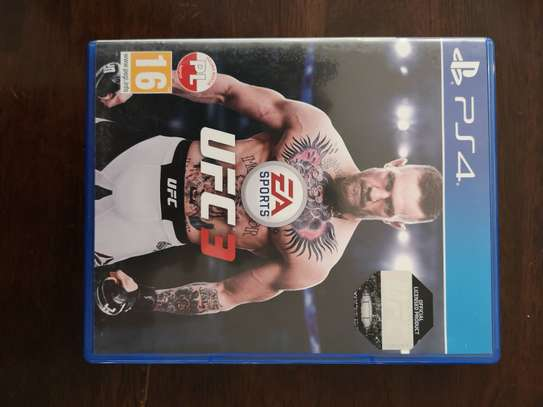 UFC 3 for Play Station 4