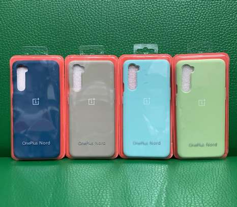 Silicone One Plus Nord Phone Cover/cases image 1