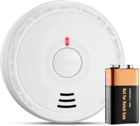 PICTEK Smoke Alarm, Smoke Detector Battery Operated with 10 years Life Time image 1