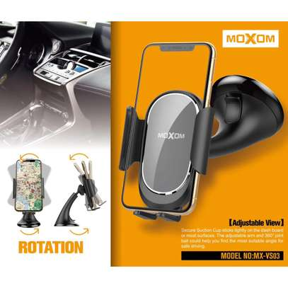 Moxom Suction Cup Phone Holder Car Mount image 3