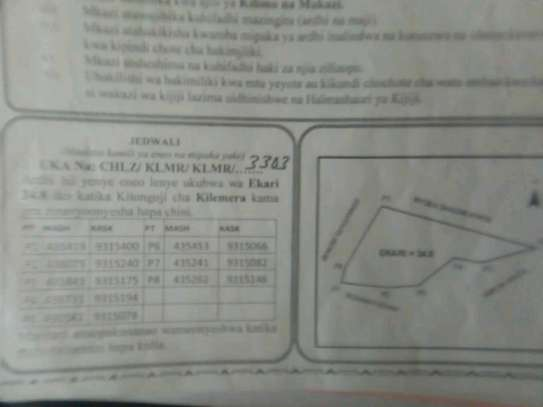 plot for sale at bagamoyo image 1