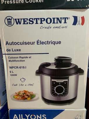 Westpoint 6L 1000W Electric Pressure Cooker image 2