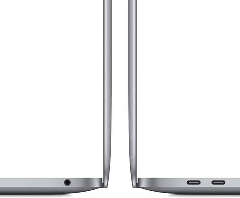 Apple MacBook Pro with Apple M1 Chip (13-inch, 8GB RAM, 256GB SSD) - Space Grey (November 2020) image 2