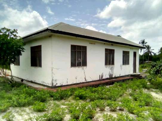 2 Houses in a compound and in a 1 Acre Plot at Chanika. image 2