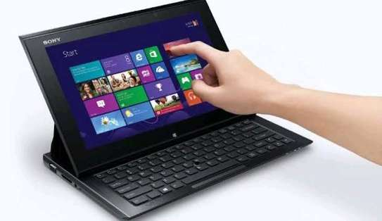 SONY TABLET LAPTOP image 2