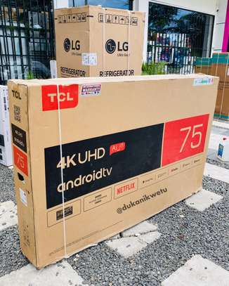 75INCH INCH TCL SMART UHD ANDROID TV image 1