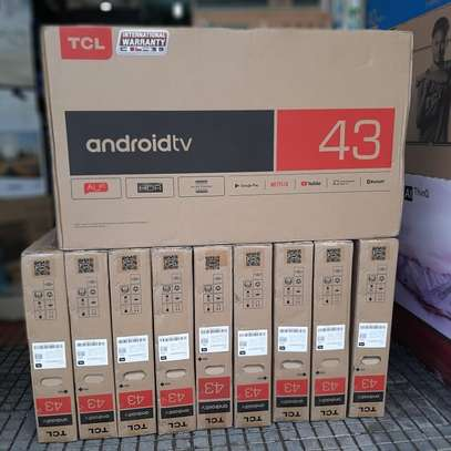 TCL ANDROID SMART  TV INCH 43