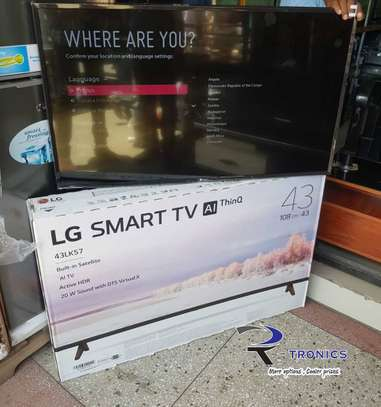"LG Full HD Smart LED TV 43"" – 43LK570 image 1"