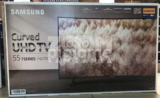 SAMSUNG SMART|CURVED TV Model-55NU7300