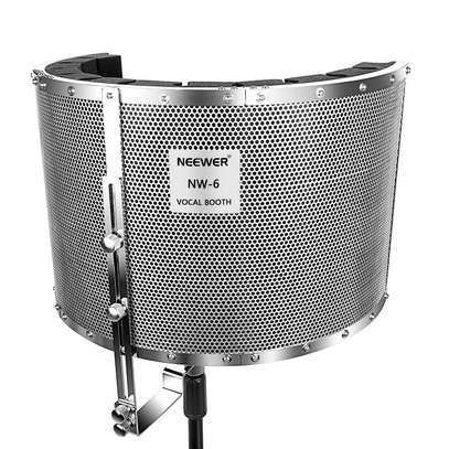 STUDIO EQUIPMENTS (Neewer Microphone Isolation Shield Absorber Filter Vocal Isolation Booth) image 3