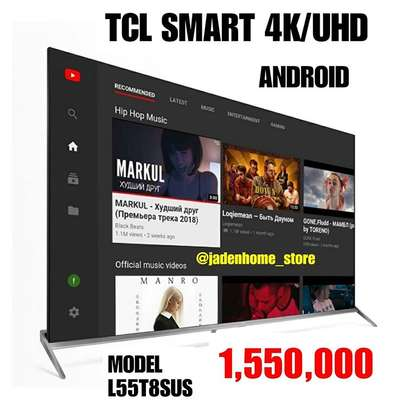 TCL UHD Android Smart TV 55 Inches L55T8SUS