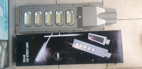 AUTOMATIC STREET SOLAR LIGHT 150w