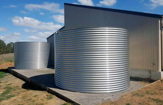 STAINLESS STEEL TANKS ROUND SHAPE image 1