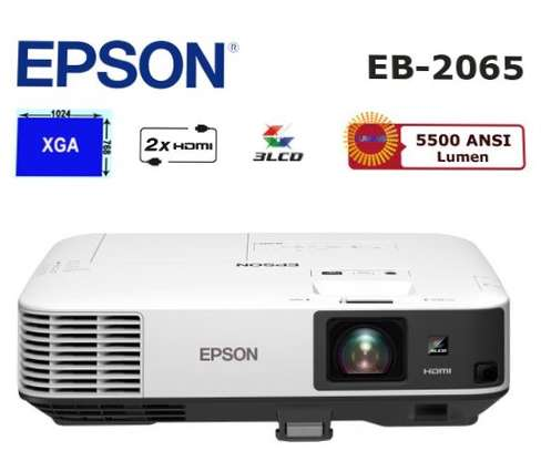 EPSON EB-2065 PROJECTOR WITH 5500 LUMENS XGA 1024 x 768 RESOLUTION