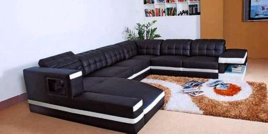 Brown Sofa U shape