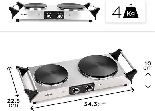 SPRING DEAL: Duronic Hot Plate HP2SS   Table-Top Cooking   2500W   Stainless-Steel Electric Single Hob with Handles image 8