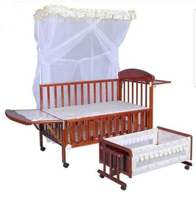 Brand New Baby Bed set (2 beds with nets)