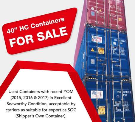 Containers 40Feet