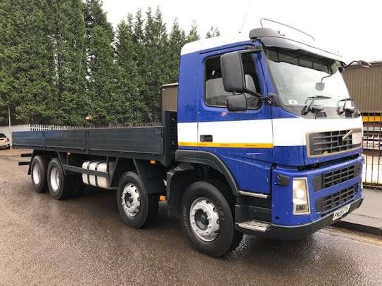 2005 Volvo F12 8X4 380 FLATBED 104MILLION image 6