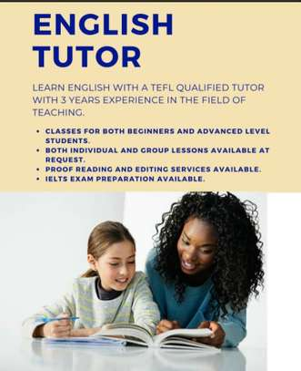 ENGLISH LANGUAGE TUTOR AVAILABLE