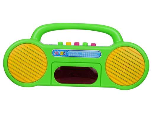 Musical Educational Radio Toy Multicolor image 3
