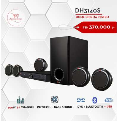 LG DVD  HOME THEATRE DH3140S image 1