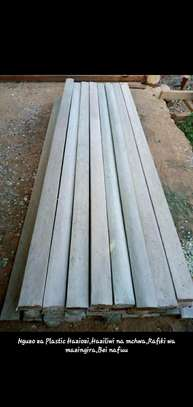 White plastic timber image 1