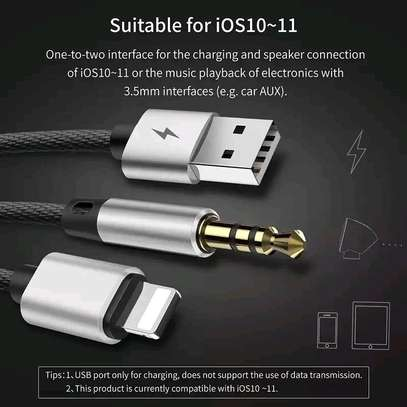 Baseus 2 In 1 Lighting /USB Cable . image 3
