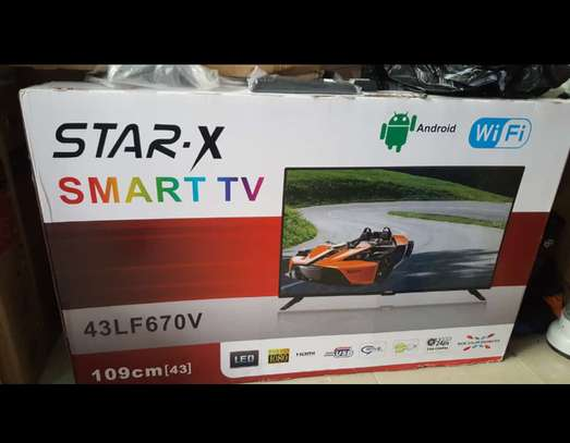 Star x 43 inch smart android image 1