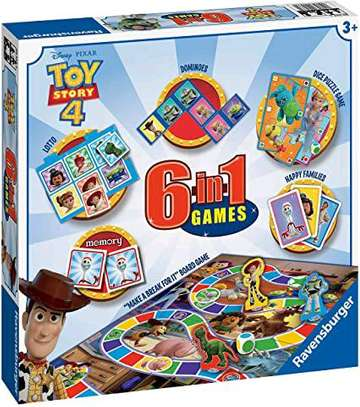 Toy Story 6 in 1 Game