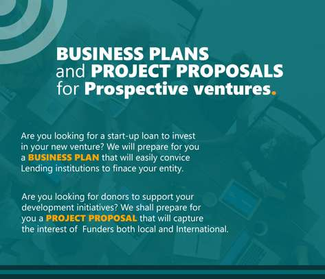 BUSINESS PLANS and PROJECT PROPOSALS for your Ventures