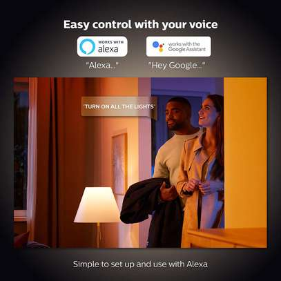 Philips Hue White Ambiance Smart E27/B22 LED   Bluetooth, Works with Alexa and Google Assistant image 3