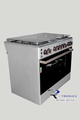 90x60 DELTA free standing cooker (4 GAS+ 2 ELECTRIC) image 2