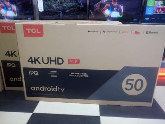 TCL UHD SMART TV 4K 50 INCH image 1